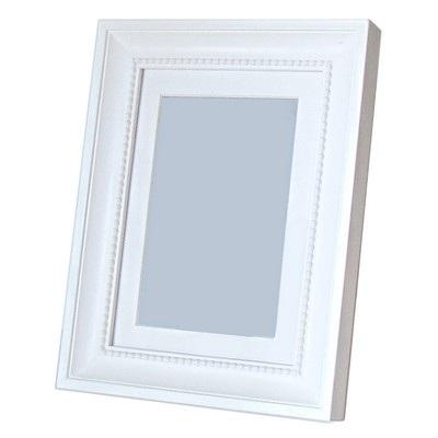 Cadre photo blanc 10x15.cm