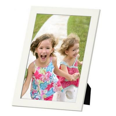 Votre Photo 10x15 encadrée - cadre blanc 14x19