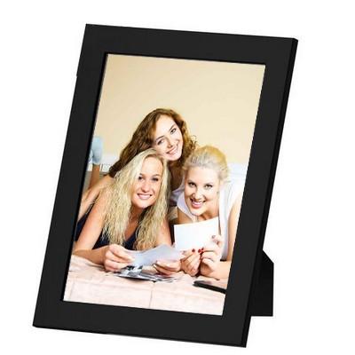 Votre Photo 10x15 encadrée - cadre noir 14x19