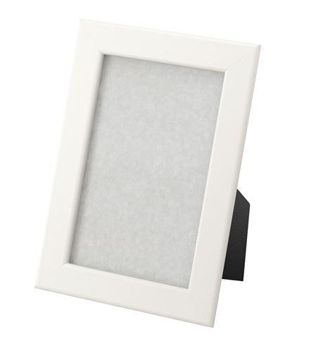 Cadre photo blanc 10x15