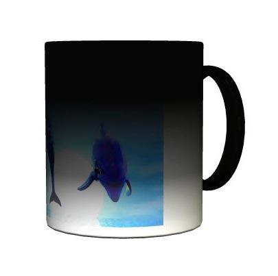 Mug photo magique Noir personnalisé