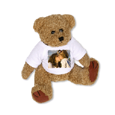 Peluche photo perso Ourson