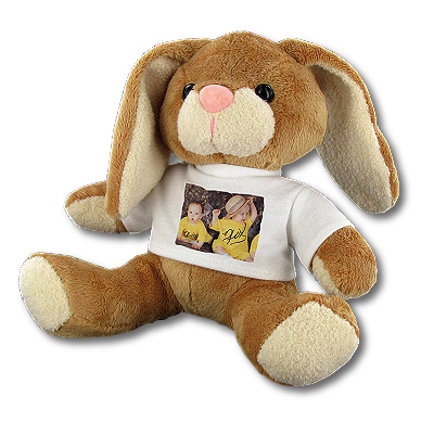 Peluche photo Grand Lapin