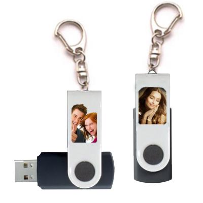 Porte clés USB perso blanc