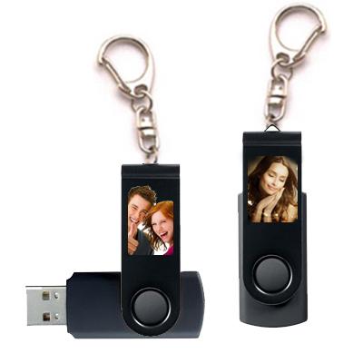 Porte clés USB perso noir