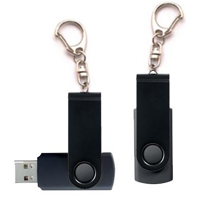 Porte-clés USB noir 8Gb