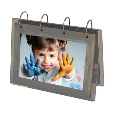 Porte photos transparent