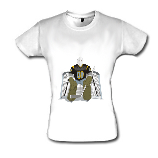 Tee-shirt blanc personnalisé taille S à XXL